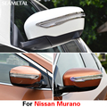 Для Nissan Murano 3-й 2015 2016 2017 Автомобиль Зеркало Заднего Вида Потирая Газа Обложка Внешний Украшения Автомобильные Аксессуары для укладки
