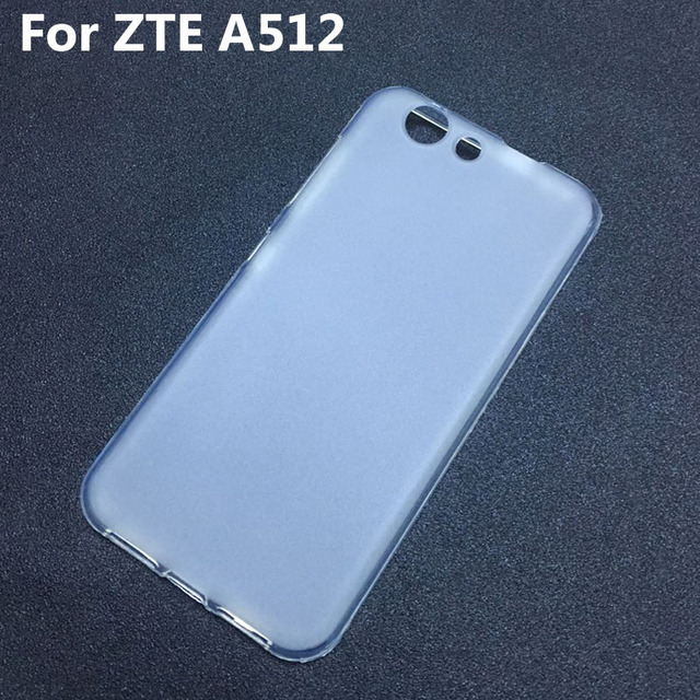ZTE Blade A512 Case Silicone Soft Frosted TPU Back Gel Skin Funda Cover Case For ZTE Blade A512