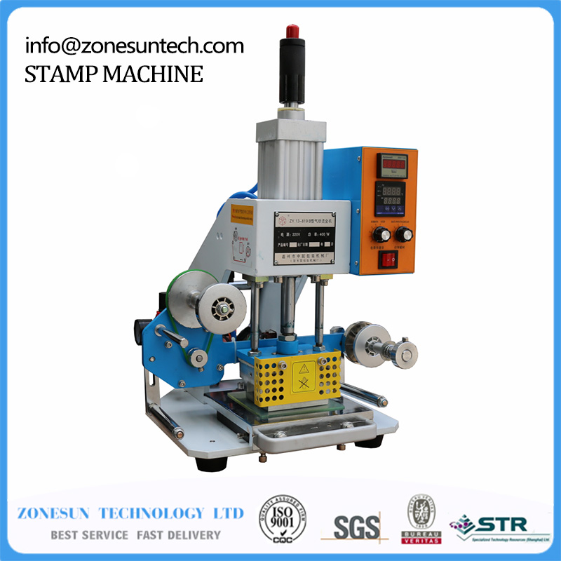 ZY-819-B Pneumatic Stamping Machine,leather LOGO printer,pressure words machine,name card stamping machine(220V/50Hz) vibration type pneumatic sanding machine rectangle grinding machine sand vibration machine polishing machine 70x100mm