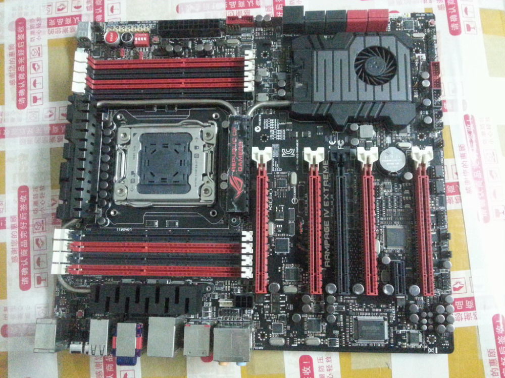 R4E RAMPAGE IV EXTREME X79 MOTHERBOARD 100% TESTED OK