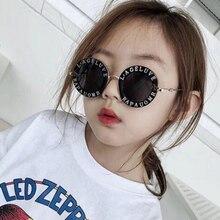 Steampunk Bee Kids Sunglasses Boys Girls Luxury Vintage Children Sunglasses Round Sun