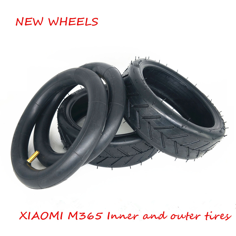 Brave Xiaomi M365 Electric Scooter Custom Parts Front And Rear Wheels Inner And Outer Tires 8 1/2x2 Increase Thickness Scooters Roller Skates, Skateboards & Scooters
