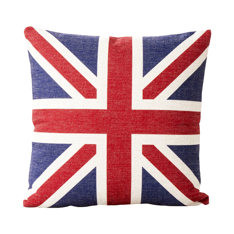 Union Jack Canada American Flag Pillow Cover Cushion Cover Throw Custom Decorative Throw Pillows Canada