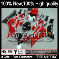 Santander Body Body For YAMAHA YZFR6 06 07 YZF 600 YZF R 6 YZF600 Gloss Red