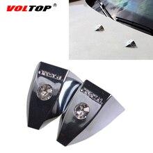 2 個ユニバーサル車のダイヤモンドワイパー装飾カバー高貴ドリルステッカー自動車外装ラインストーンファッション高貴な装飾ステッカー