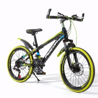 Safety Durable Absorb Shock Fork Duplex Disc Flying 20 MTB Mountain Bike Chidren S Bicycle High