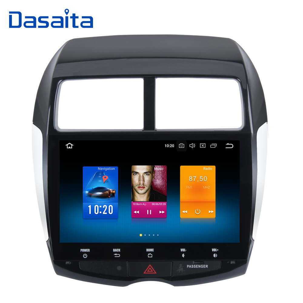 Android 8.0 Octa Core 4 gb RAM + 32 gb ROM GPS Lecteur Multimédia avec 10.2 HD Écran Tactile pour Mitsubishi ASX 2010 2011 2012