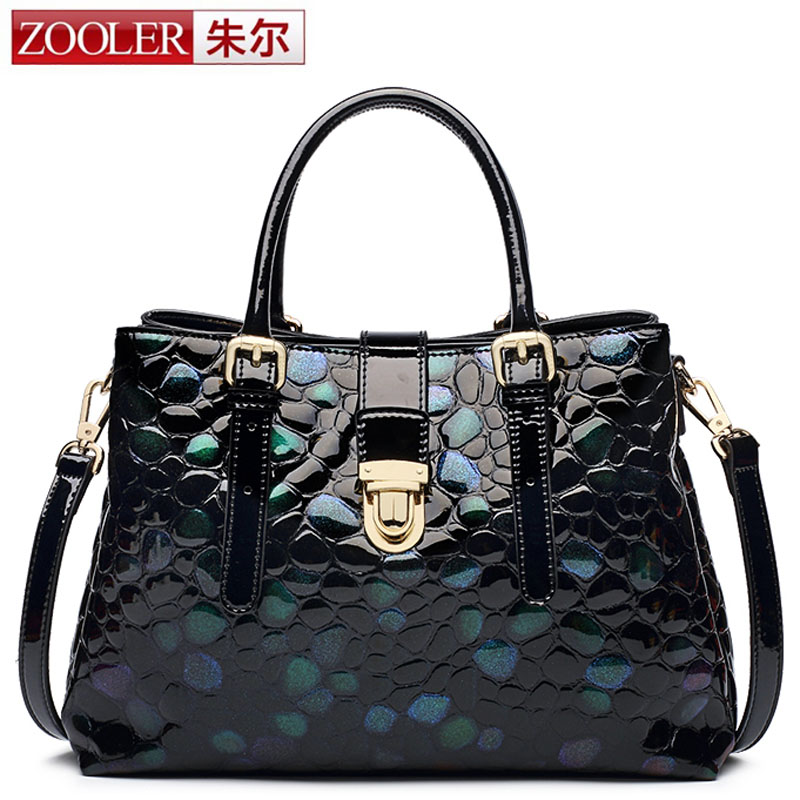 ZOOLER New Designer Genuine Leather Bags Ladies Famous Brand Women Handbags High Quality Tote Bag for Women Fashion Hobos Bolso 2018 soft genuine leather bags handbags women famous brands platband large designer handbags high quality brown office tote bag