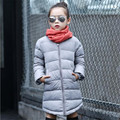 Winter Children Girls Warm Down & Parkas Outerwear Jacket for Boys 90% Thick Hooded Duck Down Parkas Outwear 120-150cm