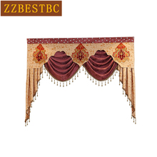 Luxury Valance custom dedicated links for living room bedroom kitchen hotel  window curtain top (not included curtain and tulle) цены