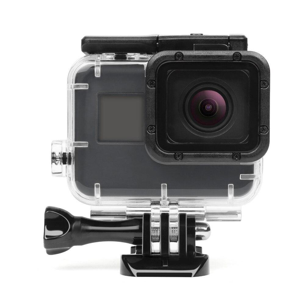 SCHIEßEN 40 Mt Unterwassergehäuse für GoPro Hero 5 Schwarz Go Pro Hero 6 Kamera Tauchen Gehäuse Halterung für GoPro Hero 6 zubehör