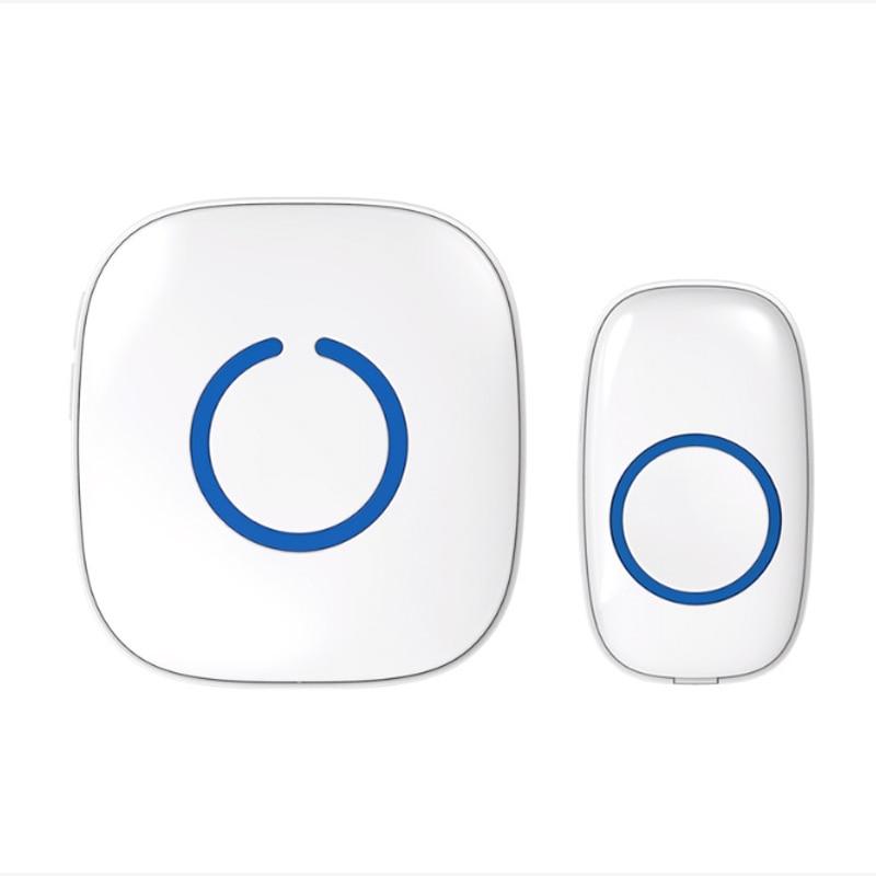 EU Socket wireless doorbell remote for Home 220V inline