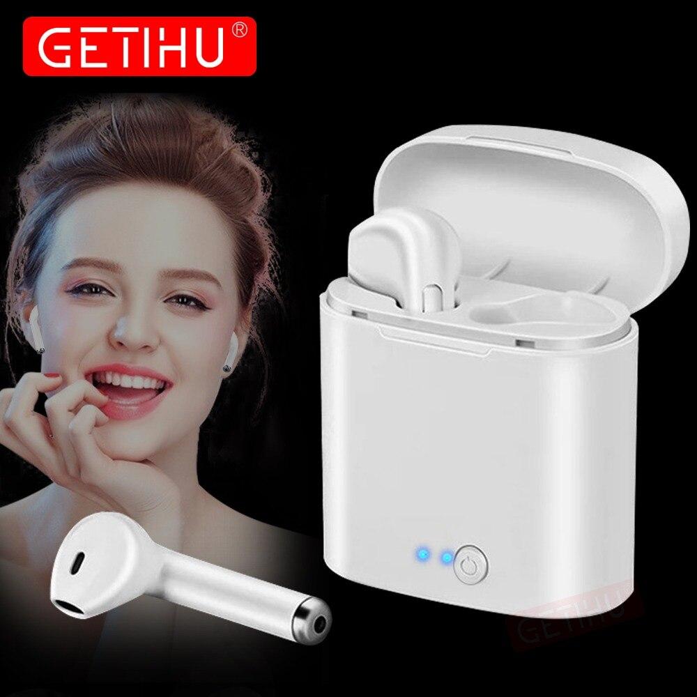 Mini Cuffie Bluetooth Auricolare Del Telefono di Sport Auricolare in Ear Buds Auricolare Senza Fili Auricolare Air Baccelli Auricolare Per il iphone Samsung