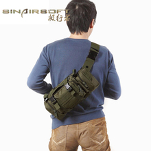 High Quality Outdoor Military Ultra light Bags Tactical Waist Pack Mochilas Molle Camping Hiking Pouch Bag