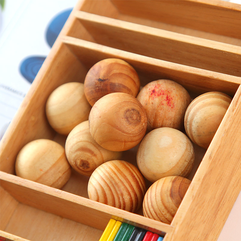 Yooap Insects mildew wood moth insect camphor wardrobe clothes drawers pests 10 pieces natural fragrant wood balls in Moth Balls Bars from Home Garden