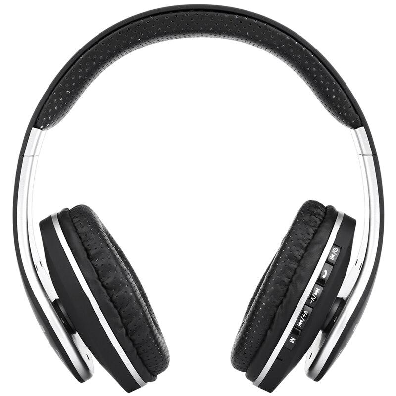 Original JKR 211B Wireless Bluetooth LED Headphones Stereo Headsets Portable Earphones with Mic FM Radio TF
