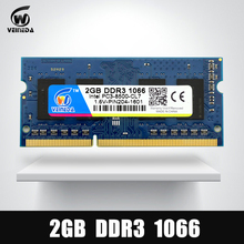 Memory Ram DDR3 2gb 1066 Sodimm ram ddr 3 PC3-8500 204pin For AMD Intel Laptop