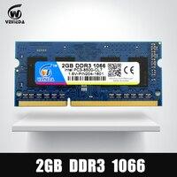Memory Ram DDR3 2gb 1066 Sodimm Ram Ddr 3 PC3 8500 204pin For AMD Intel Laptop