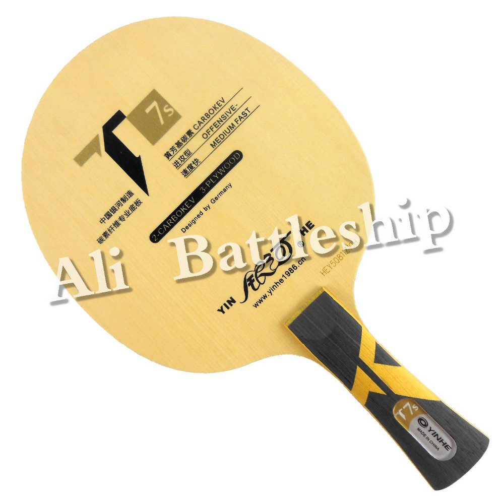 Original Galaxy YINHE T7s CARBOKVE T-7 Upgrade Table Tennis Blade for Ping Pong Racket yinhe table tennis balde ping pong racket dragon god national team 1986 dragon 8s limited racket alc