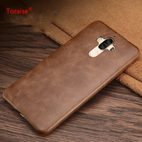 Huawei Mate 9 Case Genuine Leather Back Cover Case Vintage Leather PC Case For Huawei Mate