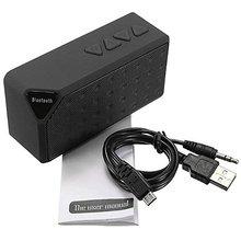 Hfe nuevo mini portátil bluetooth altavoz sin hilos del altavoz fm tf sd USB Reproductor de Música Caja de Música Bajo Estupendo para el Teléfono Celular Tablet PC ip