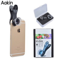 Aokin Super Macro Lens 12 24X Macro Photography Lenses For IPhone Mobile Phone Camera Lens For