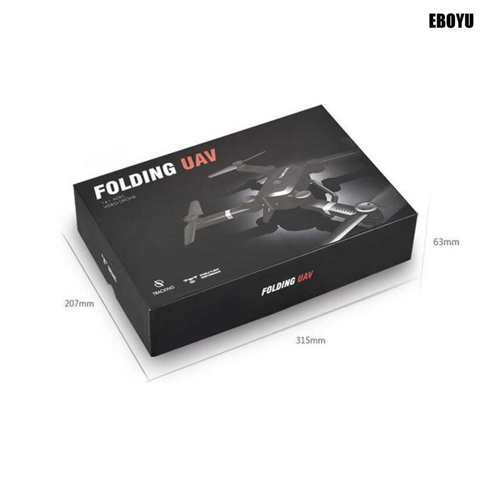 1588fd64688 ... EBOYU QS005 Sky Hunter Foldable Rc Selfie Drone with Wifi FPV 2.0MP HD  Camera Altitude
