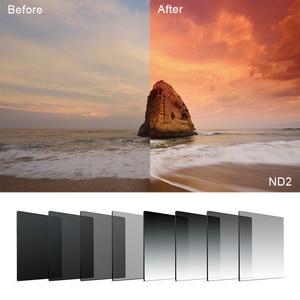 Image 2 - Фильтр адаптер для камеры с градиентом нейтральной плотности ND Square из смолы, держатель для колец, система Cokin P Series для SLR DSLR
