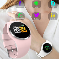 Fitness Smart Watch Women Running Heart Rate Monitor Blood Pressure Bluetooth Pedometer Touch Intelligent Sports Watch For Woman