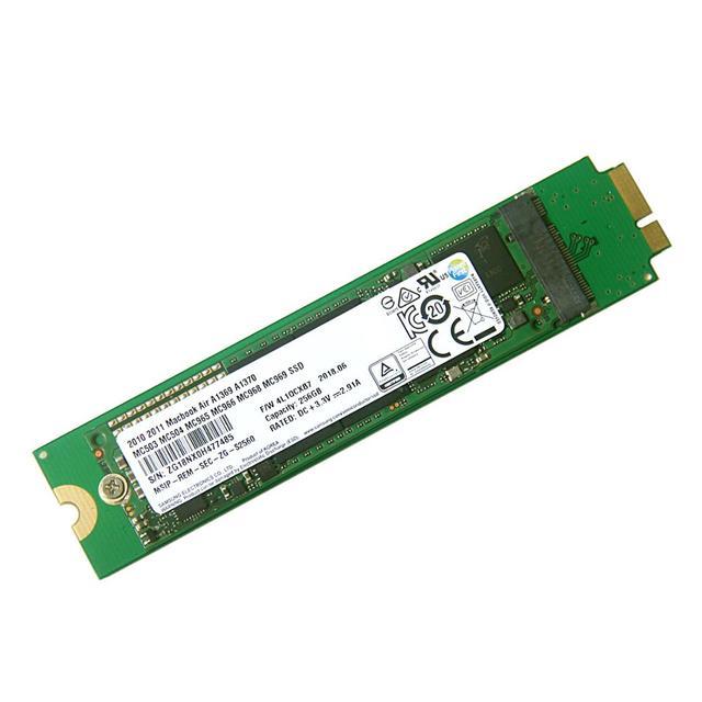 256GB SSD עבור 2010 2011 Apple Macbook אוויר A1369 A1370 MC503 MC504 MC965 MC966 MC505 MC506 MC968 MC969 מוצק מצב כונן