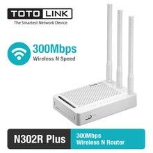 TOTOLINK N302R + 300 Мбит/с беспроводной маршрутизатор/Беспроводной маршрутизатор с 3 шт. из 5dBi антенны, в России прошивки