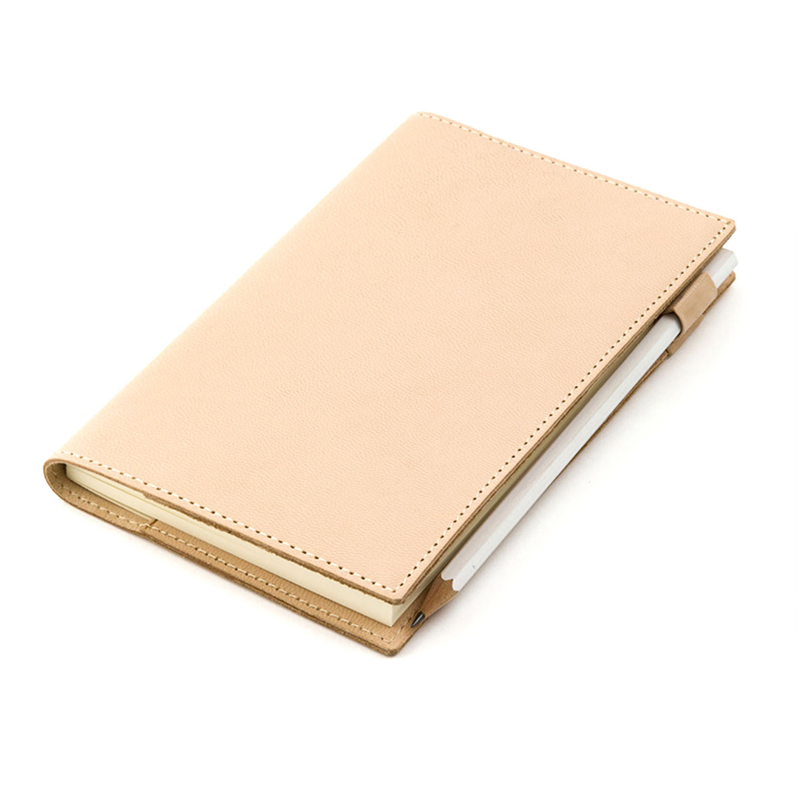 Fromthenon Vegetable Tanned Genuine Leather Cover Notebook For Hobonich Planner Vintage Stationery Office And School Supplies-in Notebooks from Office & School Supplies