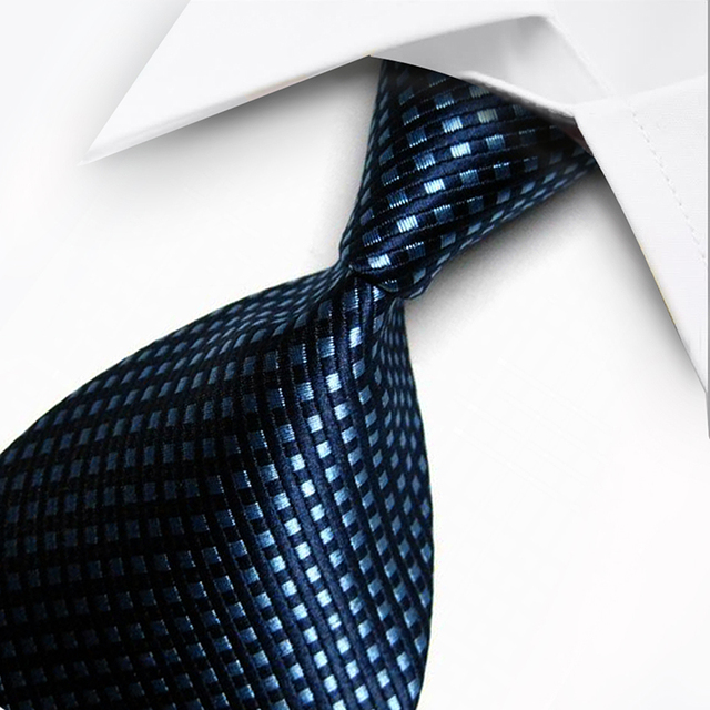 T11 Red Gray Blue Orange Geometric Dot Stripe Classic Silk Woven Neck Tie Formal Business Casual Knitted Mens Gift Ties Neckties