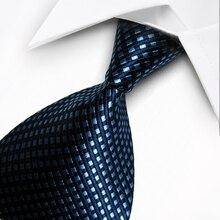 T11 Красный Серый Синий Оранжевый Геометрическая Точка Полоса Классический Шелковый сплетенные Шеи Галстук Формальный Бизнес Случайный Трикотажные Мужские Подарочные Связи галстуки