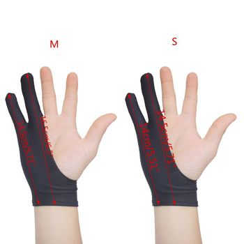 2 Fingers Drawing Glove Anti-fouling Artist Favor Any Graphics Painting Writing Digital ablet For Right And Left Hand 1
