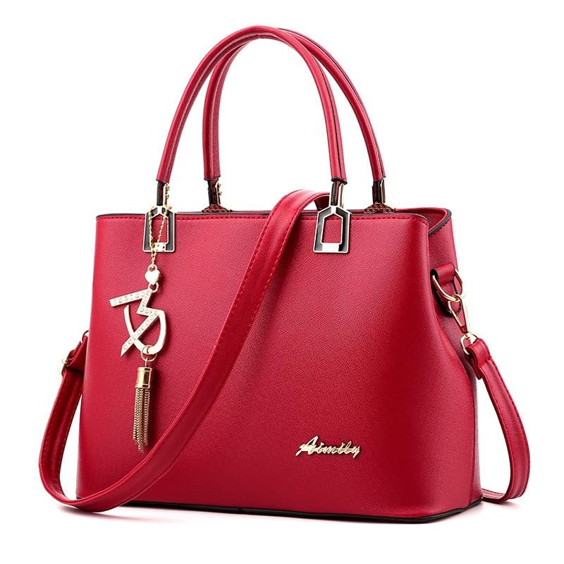 Női táskák Luxus kézitáskák Híres Designer Női táskák Alkalmi Tote Designer Kiváló minőségű 2018 ÚJ Belső nyílászseb