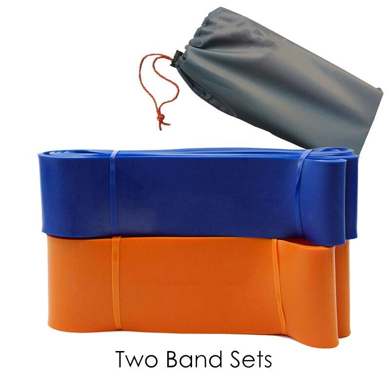 2 pièces/ensemble bandes de résistance Boucle Fitness Puissance de Levage Pull Up Bande Renforcer Les Muscles Exercice câble de traction
