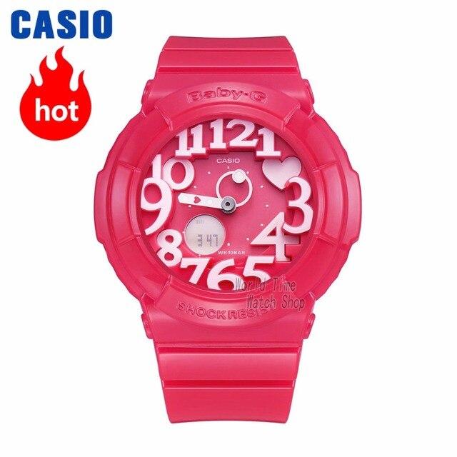 f64efaf86a9b Reloj Casio BABY-G de las mujeres de cuarzo reloj deportivo de tendencia de  moda