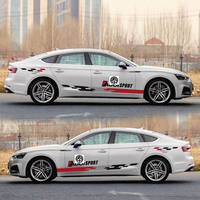 TAIYAO car styling sport car sticker For Audi A5 S5 RS5 car accessories and decals auto sticker