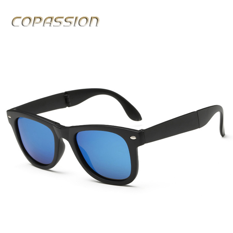 2017 Hot Classic Polarized sunglasses women men brand designer folding Sunglass vintage driving sun glasses driver oculos de sol