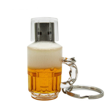 Real capacity Beer Cup usb 2.0 Pen Drive USB Flash Drives