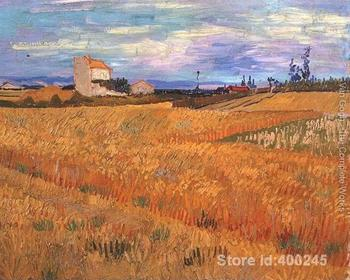 modern art oil paintings Wheat Field Vincent Van Gogh Reproduction canvas Hand painted High quality