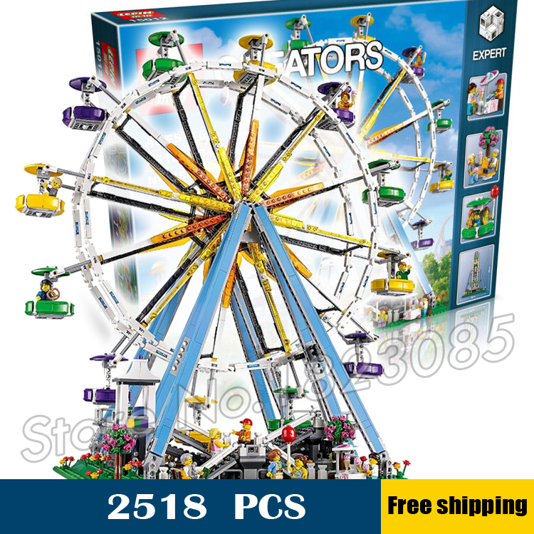 2518pcs 15012 Creator Expert Ferris Wheel Building Kit 3D Model Blocks Construction Toys Bricks Compatible with Lego