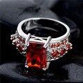Frete grátis 1 pc 925 starling prata Cubic Zirconia moda anéis de dedo partido 7 - 8 - 9 TA110 / TA113 / TA114