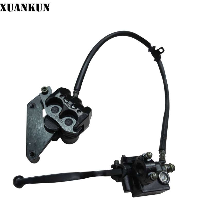 XUANKUN Motorcycle LF150-10S / KPR150 Front Hydraulic Brake Combination starpad for lifan motorcycle lf150 10s kpr150 new front brake discs accessories