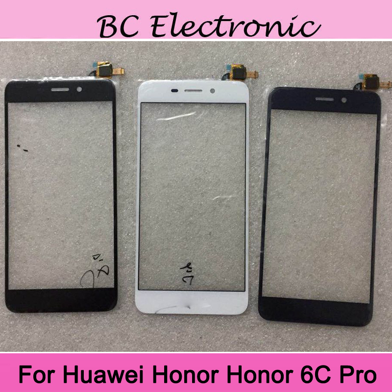 2PCS For Huawei Honor 6C Pro Touch Screen Digitizer Sensor Replacement For Honor 6C 6 C Pro touch panel with flex cable Repair