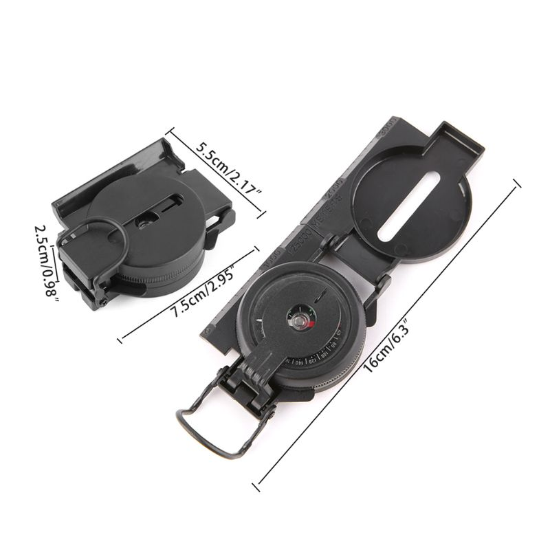 1 Pc Portable Folding Military Tactical Compass Kids Toys Teaching Compass Camping Climbing Outdoor Tool in Compass from Sports Entertainment