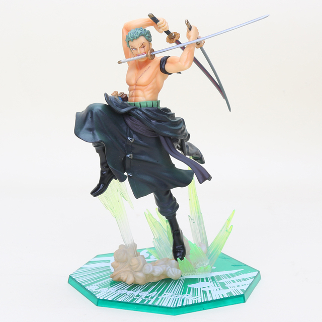 Japanese Anime One Piece Roronoa Zoro Gokutora Hunting Santoryu PVC Action Figure Model Doll Toys Boyfriend