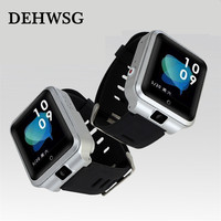 New Smart Watch Android 6.0 1G+8G Nano SIM card 4G Phone Watch 0.3MP Camera BT4.0 WIFI IP67 1000mAh Polymer Battery Smartwatch