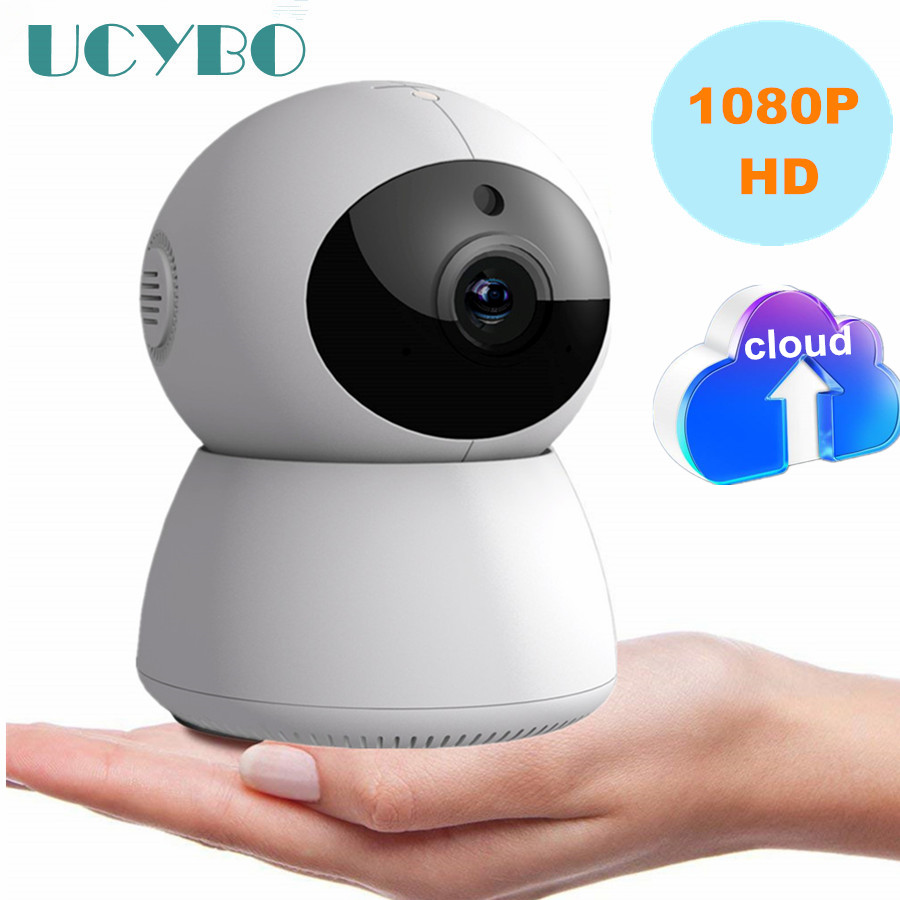 UCYBO Mini IP Camera wifi wireless 1080P cctv security cam video surveillance pan tilt audio baby monitor cloud storageTF SD